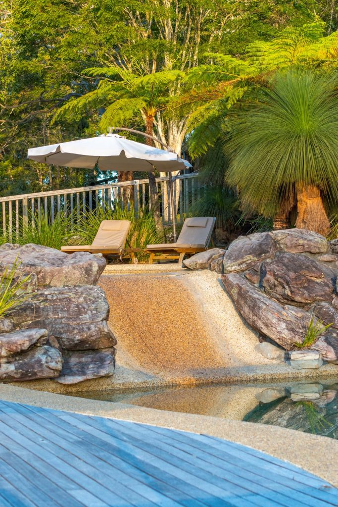 Swimming Pool | Friday Creek Retreat | Romantic Getaway Coffs Harbour