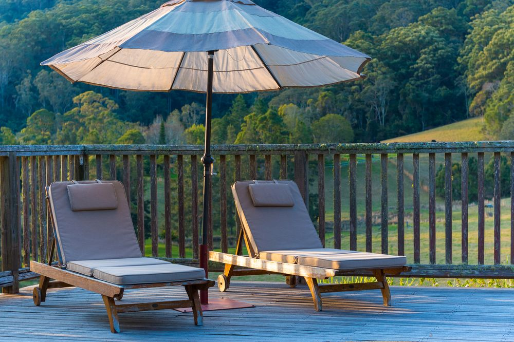 Pool Deck | Friday Creek Retreat | Romantic Getaway Coffs Harbour