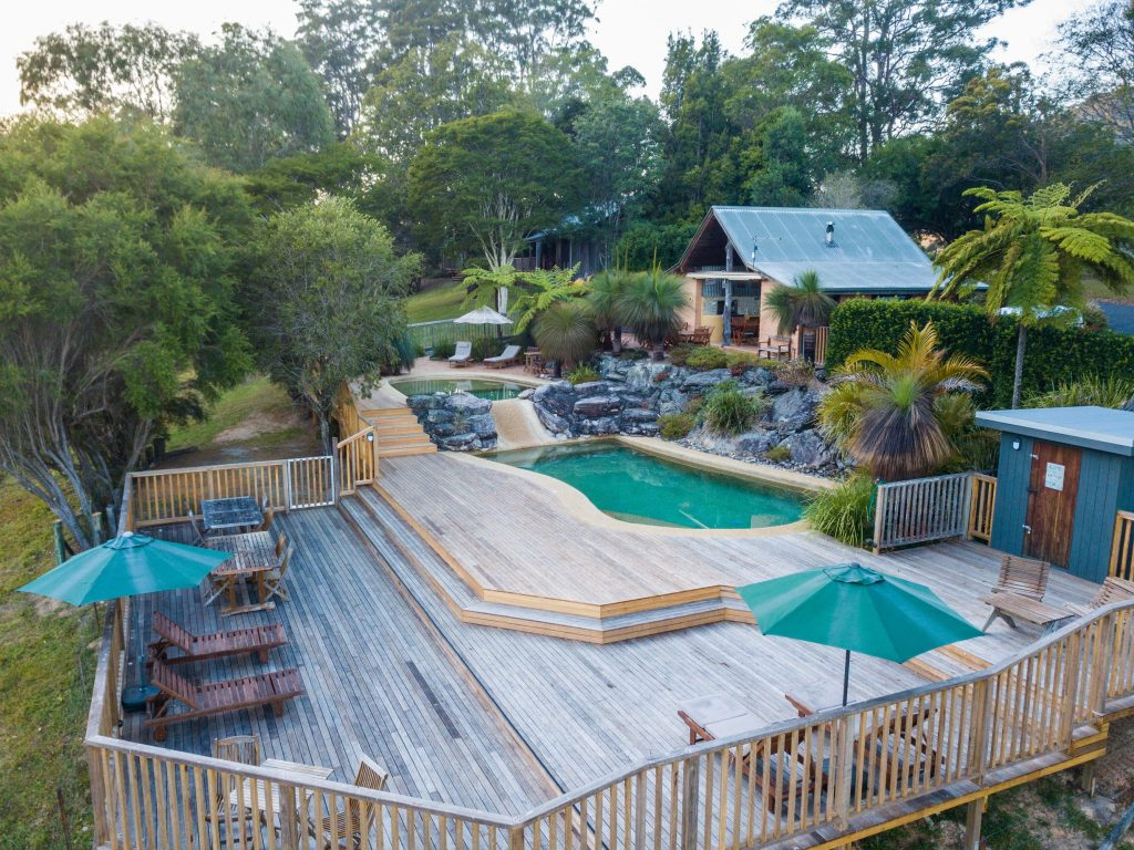 Pool Deck | Romantic Getaway Coffs Harbour