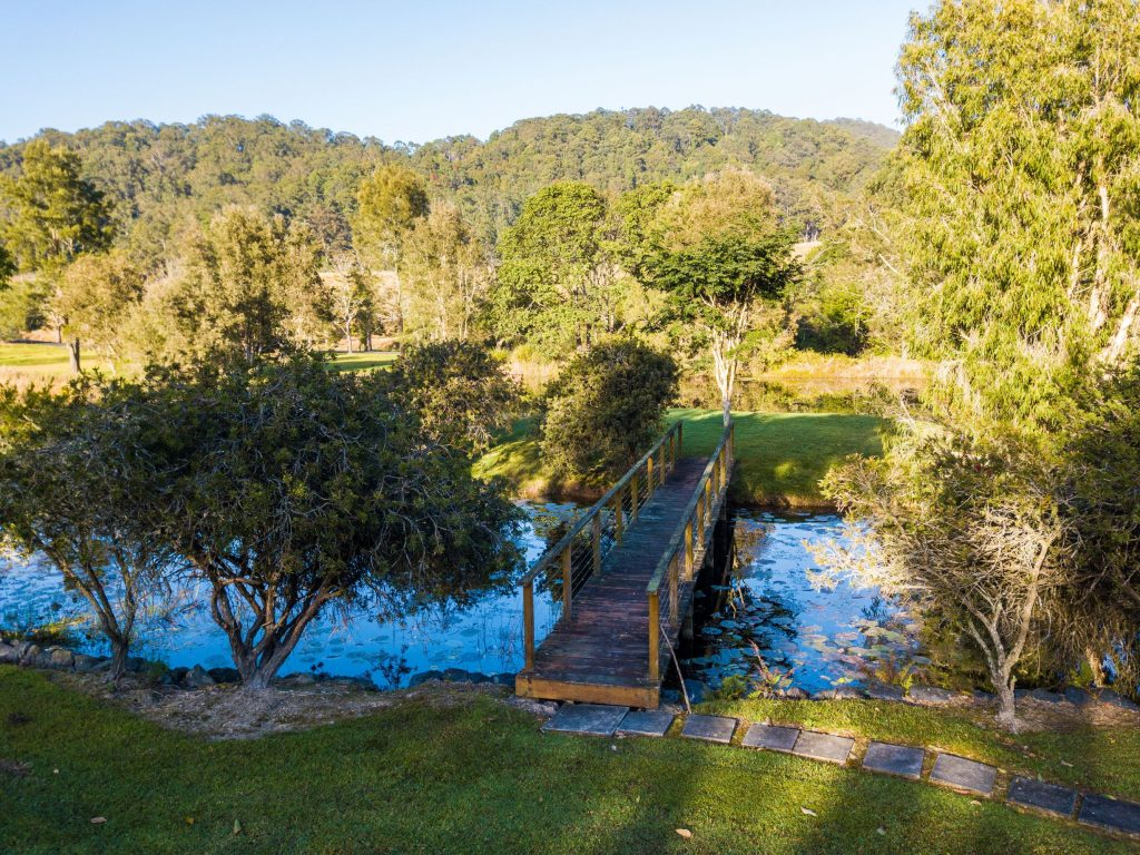Bridge | Friday Creek Retreat | Romantic Getaway Coffs Harbour