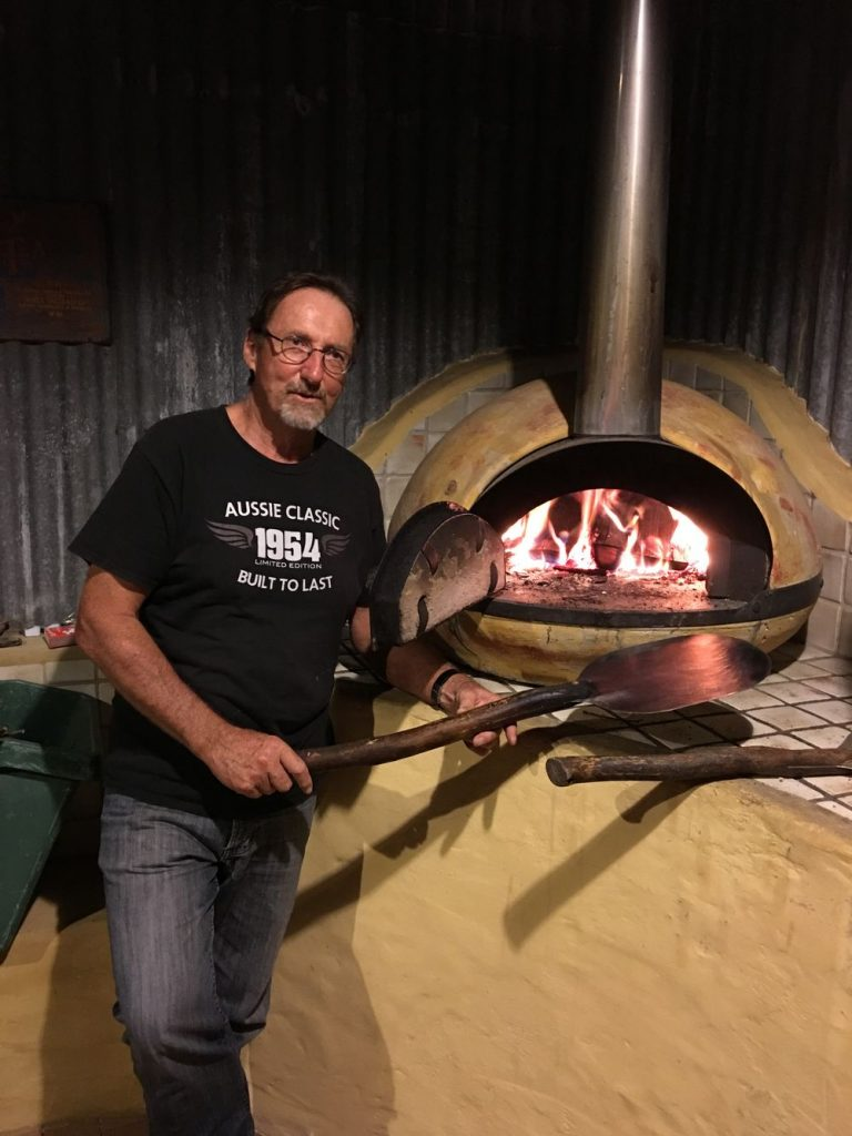 Cooking pizzas | Friday Creek Retreat | Romantic Getaway Coffs Harbour