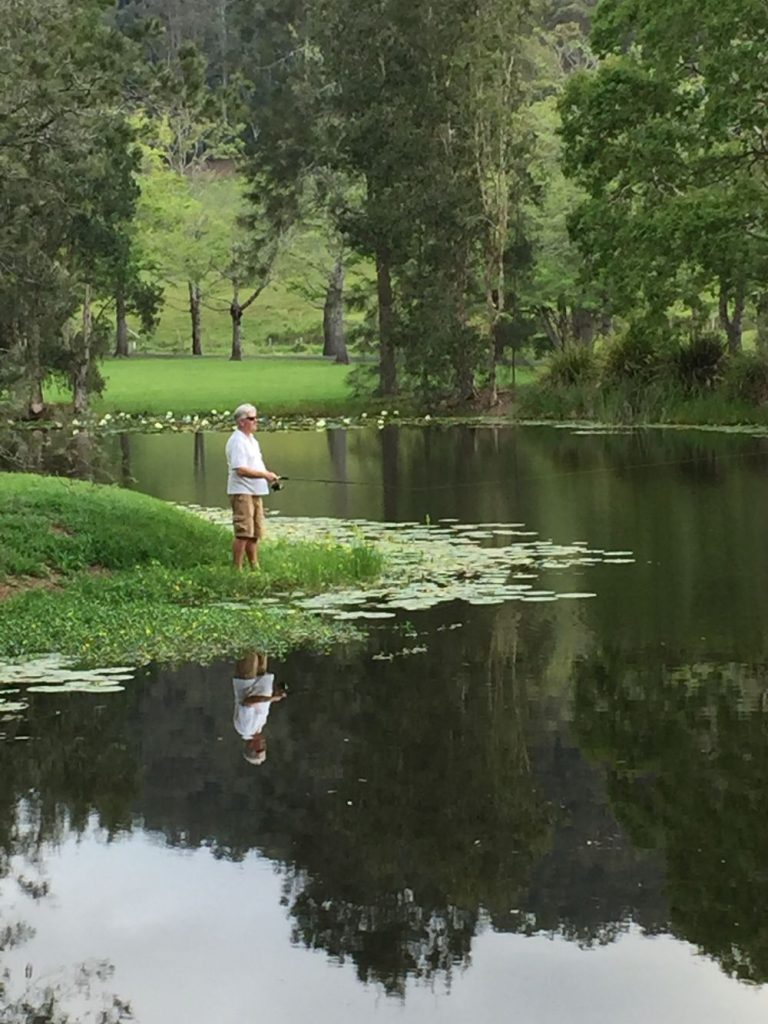 Fishing Lake | Friday Creek Retreat | Romantic Getaway Coffs Harbour