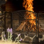 Open Fire Cosy Cabin Accommodation Coffs Harbour Hinterland