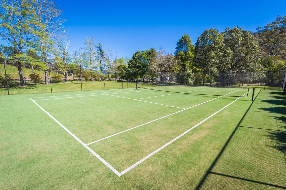 Tennis Court | Friday Creek Retreat | Romantic Getaway Coffs Harbour