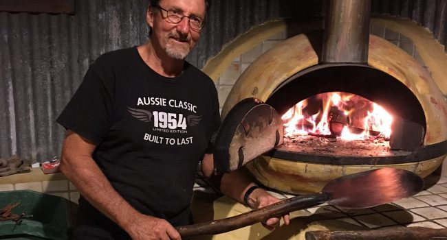 Wood Fired pizza night at Friday Creek Retreat Coffs Harbour hinterland