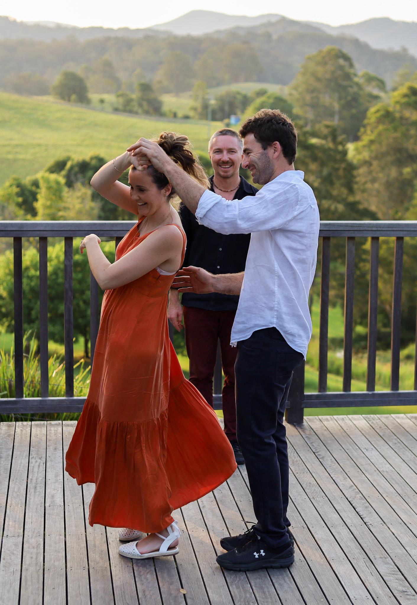Spin Wedding Dance Lesson choreography